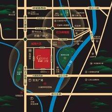 碧桂园·天玺区域图