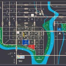 置信花园城·长河湾区域图
