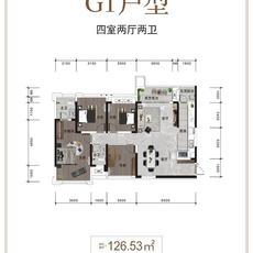 天赋乐宜G1户型户型图